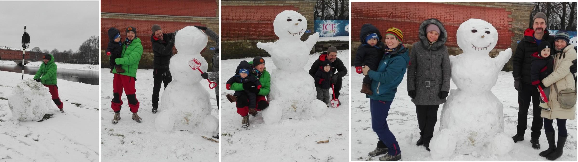 33 1 января снеговик1